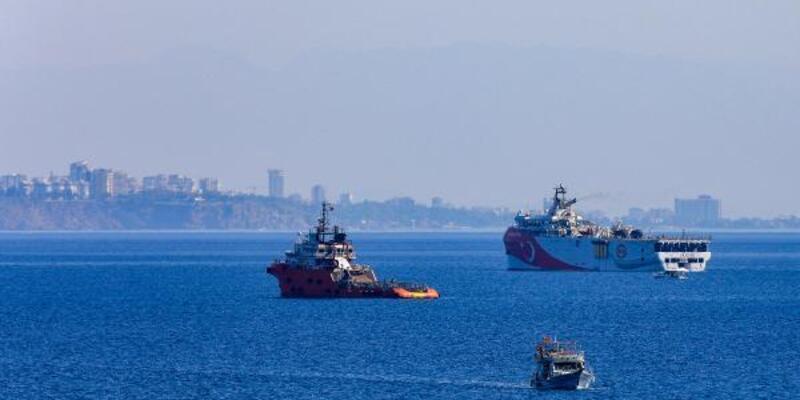 Son dakika.. NAVTEX ilanları sonrası Oruç Reis limandan ayrıldı