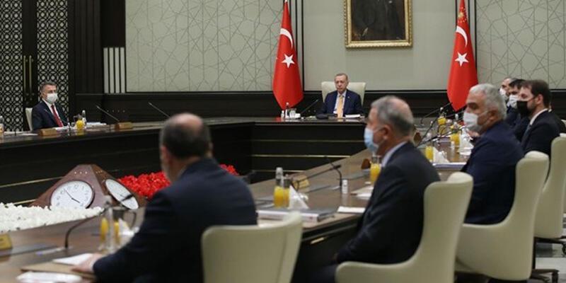 Son dakika haberi: Cumhurbaşkanlığı Kabine Toplantısı sona erdi