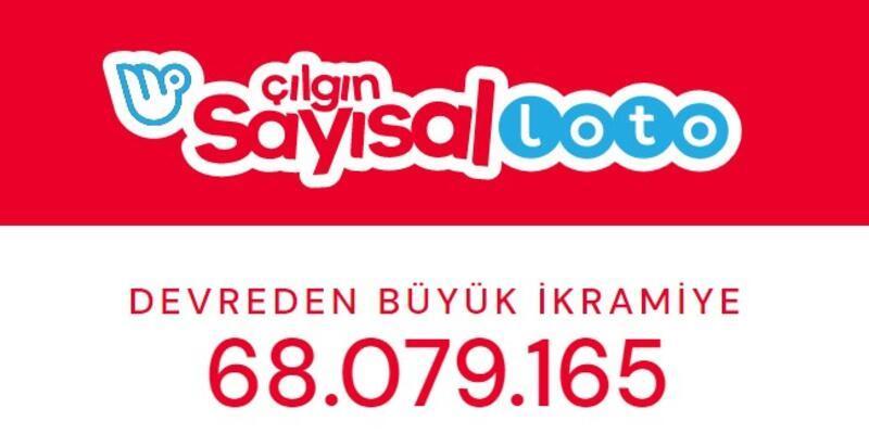 68 milyon TL! Çılgın Sayısal Loto sonuçları 5 Ekim 2020 ve bilet sorgulama