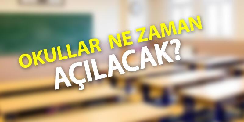 1. 2. 3. 4. 8. ve 12. sınıflar için okullar açılacak mı? MEB duyurdu! Okullar ne zaman açılacak?