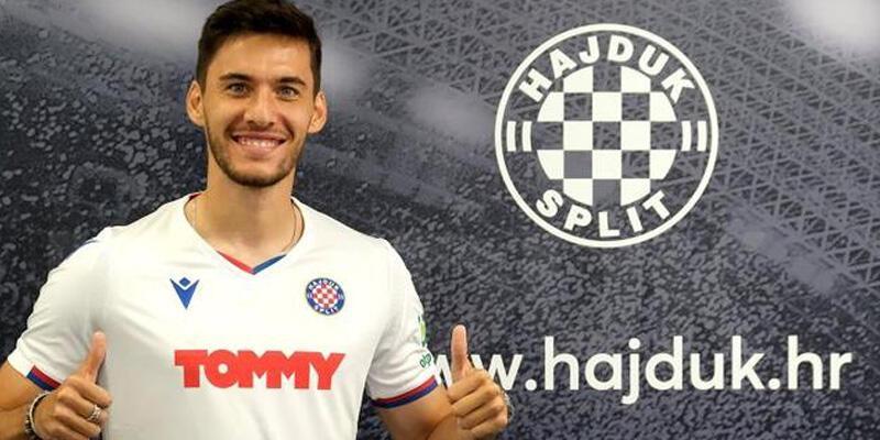 Son dakika... Umut Nayir resmen Hajduk Split'te!