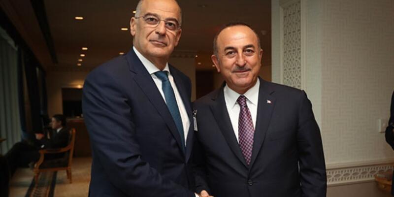 Son dakika... Bakan Çavuşoğlu, Yunanistan Dışişleri Bakanı Dendias ile görüştü