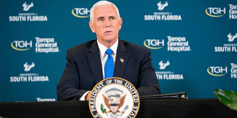 ABD Başkan Yardımcısı Pence'in koronavirüs test sonucu belli oldu