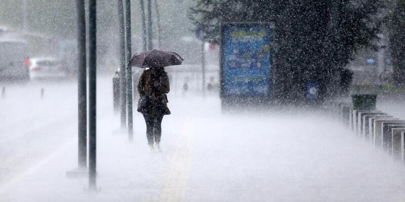 Son dakika... Meteoroloji'den o bölgeler için uyarı