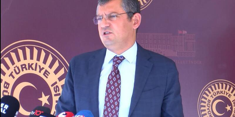 Son dakika... CHP'li Özel: Hakimler, yargıçlar kararlarıyla konuşur