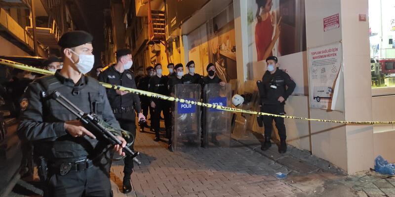 Zeytinburnu'nda arbede: 2 kişi yaralandı