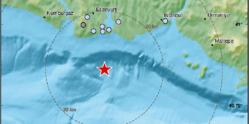 İstanbul'daki son depremin yeri ve büyüklüğü ikiye böldü!