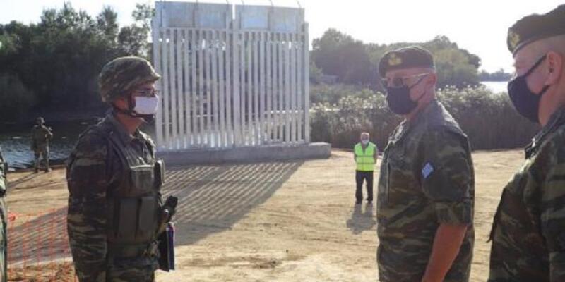 Yunanistan sınıra 27 km'lik çit yapımına başladı