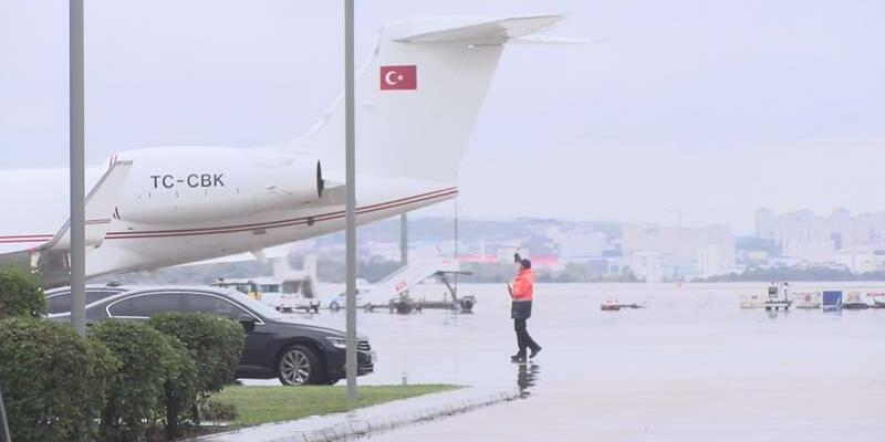 Son dakika... TBMM Başkanı Şentop Azerbaycan'a gitti