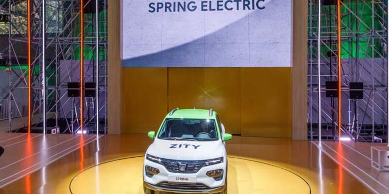 Renault Megane ve Dacia Spring elektriklenecek