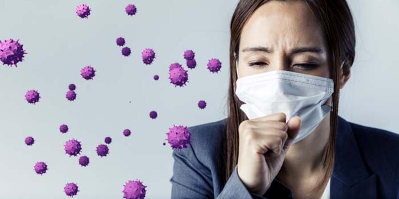 Koronavirüs ve gripte en büyük bulaş damlacıklar