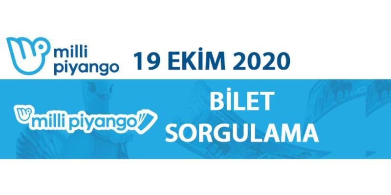 Milli Piyango 19 Ekim 2020 sonuçları açıklandı, bilet sorgulama Milli Piyango Online'da!