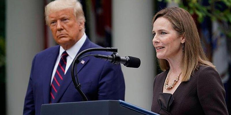 Trump'ın Yüksek Mahkeme adayı Barrett'in oylaması pazartesi yapılacak