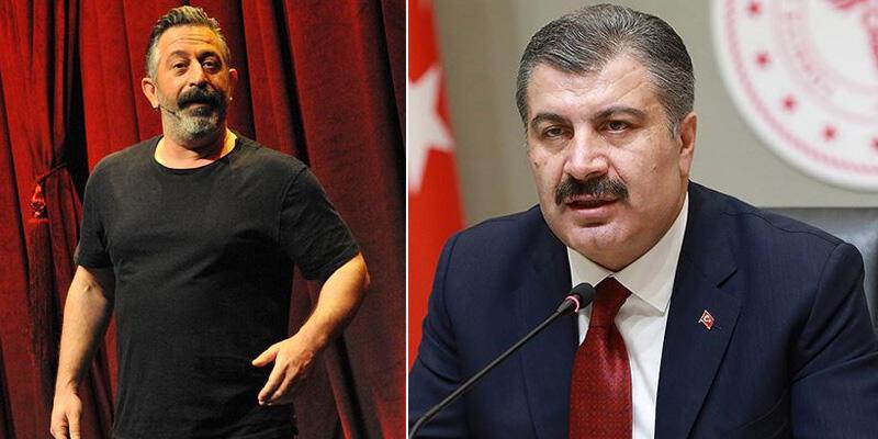 Sağlık Bakanı Koca, Cem Yılmaz'ın çağrısına yanıt verdi
