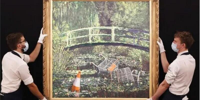 Sokak sanatçısının tablosu 10 milyon dolara satıldı