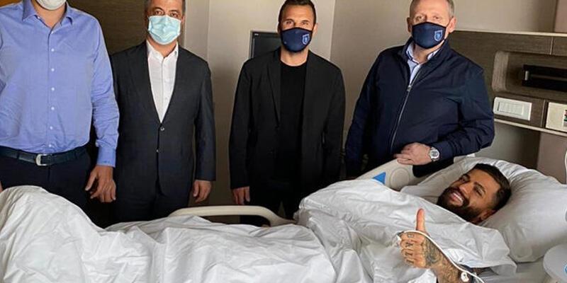 Son dakika... Başakşehirli Junior Caiçara ameliyat oldu