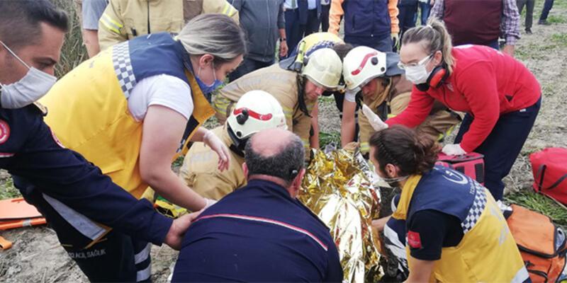 Son dakika... Dün düşen uçağın pilotu hastanede hayatını kaybetti