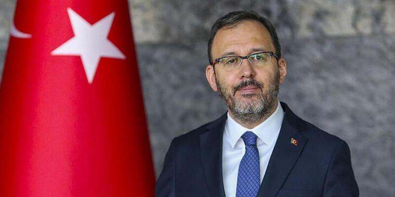 Bakan Kasapoğlu: Türkiye'nin ilk veledrom, atletizim ve cimnastik tesislerinin temelini atacağız