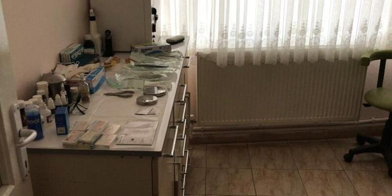 Ruhsatsız diş kliniği çalıştıran sahte hekim yakalandı