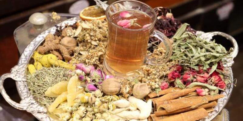 Kış hastalıklarına karşı 'Osmanlı çayı' hazırladı