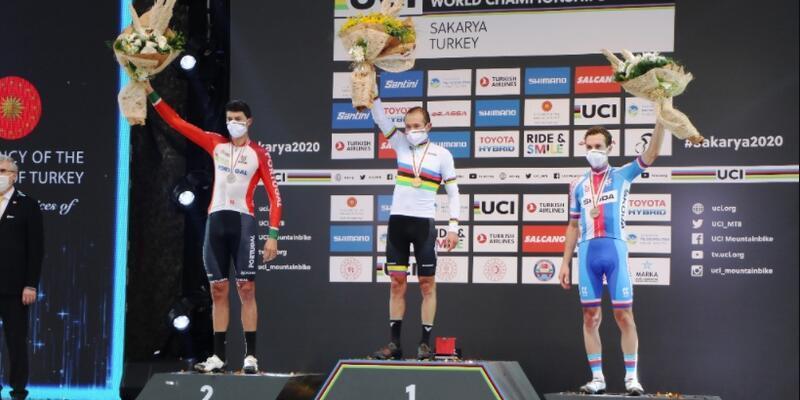 2020 Dünya Dağ Bisikleti Maraton Şampiyonası'nda ödüller verildi