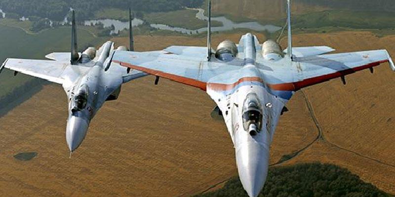 Rusya'ya ait savaş uçağı, ABD ve Almanya'ya ait gözetim uçaklarını engelledi