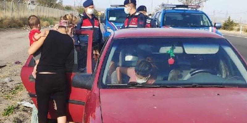Kayseri'de otomobillerden hırsızlık yapan 6 kişi yakalandı