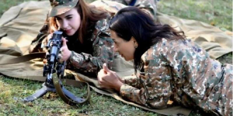 Ermenistan Başbakanı Paşinyan'ın eşi cepheye gidiyor