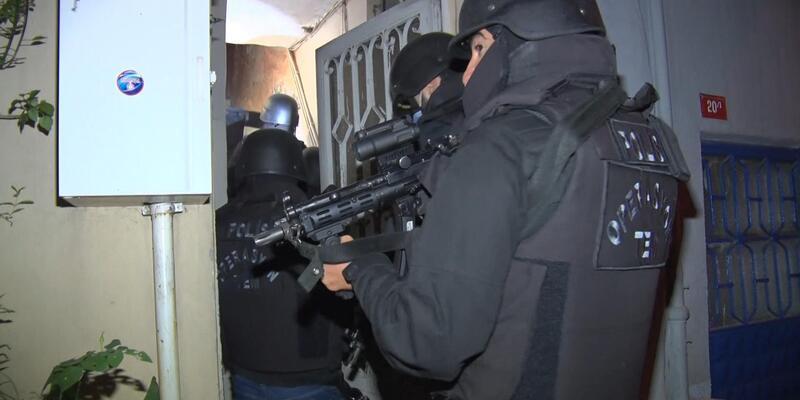 İstanbul'da eş zamanlı operasyon: Çok sayıda gözaltı var