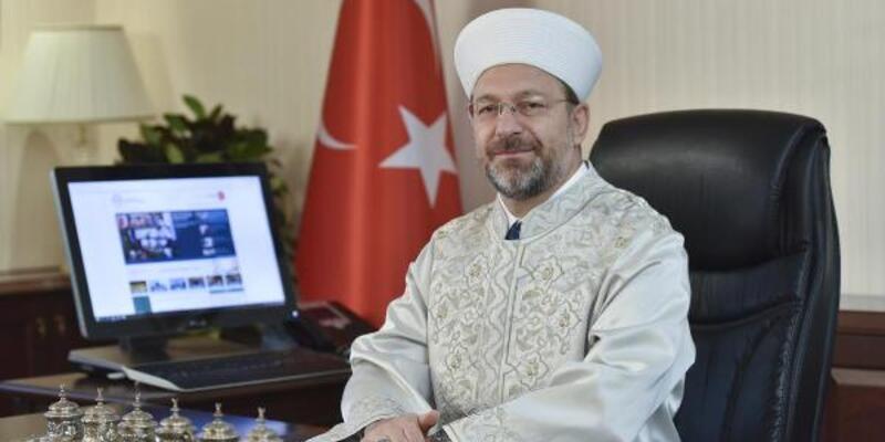 Diyanet İşleri Başkanı Erbaş'tan Mevlit Kandili mesajı