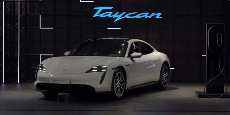 Porsche'nin elektriklisi Taycan Türkiye'de