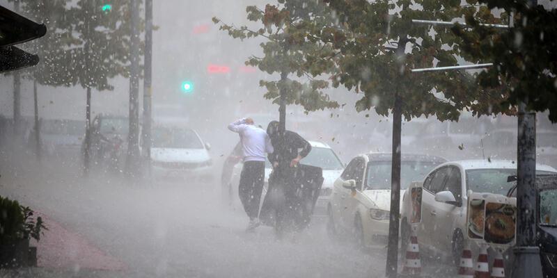 Meteorolojiden sağanak uyarısı! O iller arasında İstanbul'da var