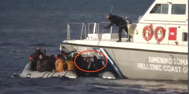 """Son dakika haberi... Görüntülere CNN TÜRK ulaşmıştı! AB, Frontex'i """"acil"""" toplantıya çağırdı"""