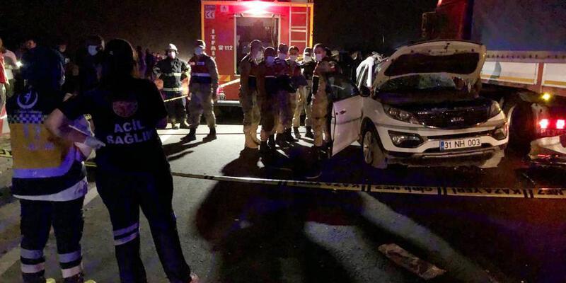 'Kına' yolunda feci kaza: Ölüler ve yaralılar var