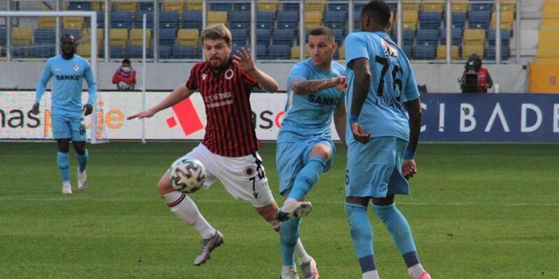 Gençlerbirliği - Gaziantep FK: 1-1