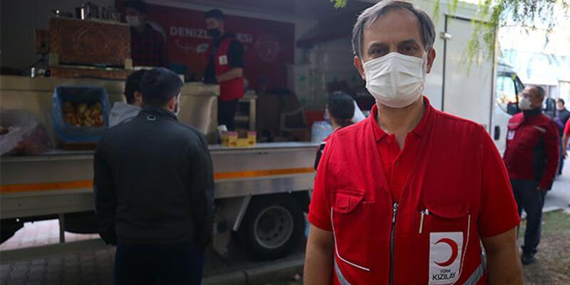 Türk Kızılay Genel Müdürü Altan: İzmir'de 60 bin kişilik yemek çıkaracak kapasiteye sahibiz
