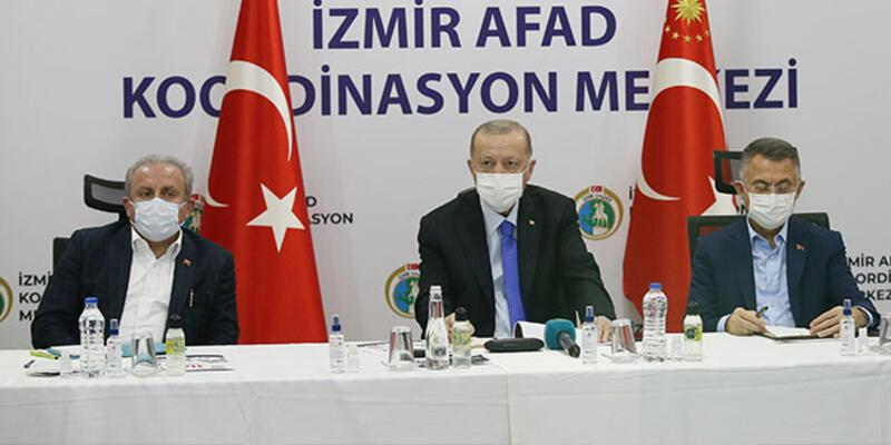 Son dakika haberi... Cumhurbaşkanı Erdoğan deprem bölgesinde