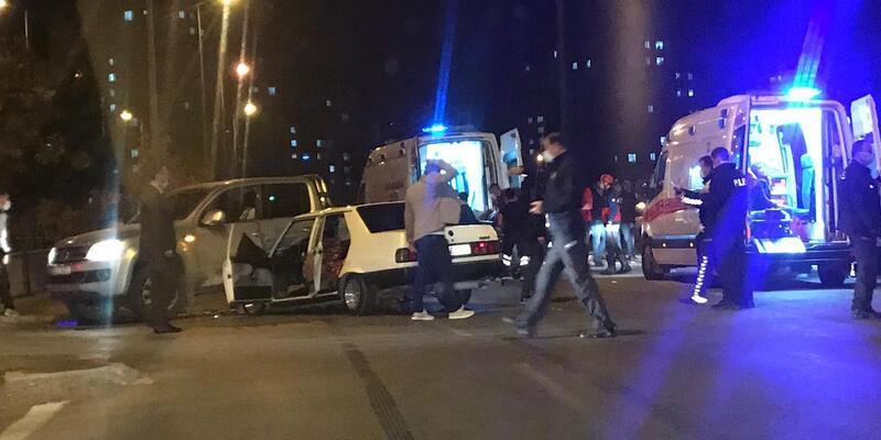 Kayseri'de feci kaza: Çok sayıda yaralı var