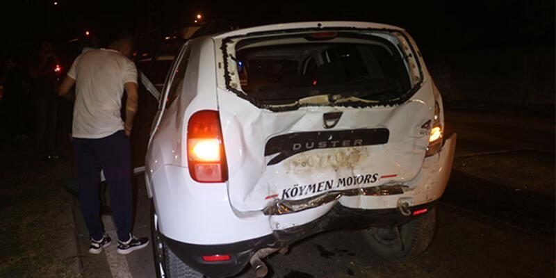 Adana'da zincirleme kaza: Yaralılar var