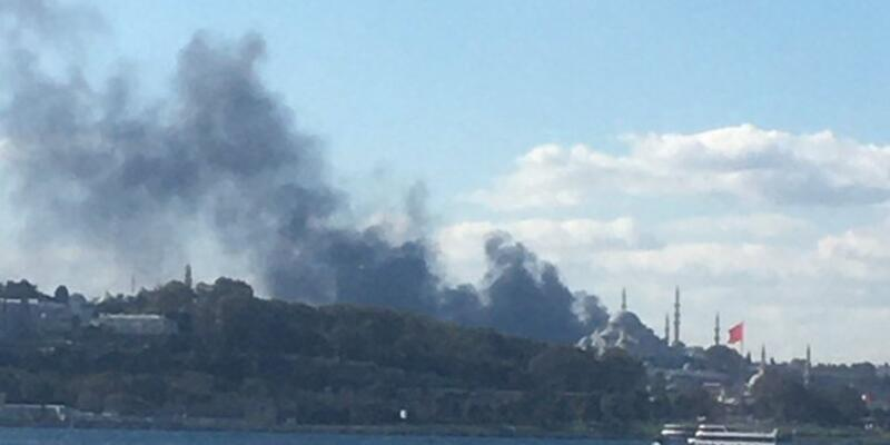 Son dakika haberi: İstanbul Fatih Çapa'da yangın! 1 Kasım 2020 Çapa Tıp Fakültesi Hastanesinde yangın!