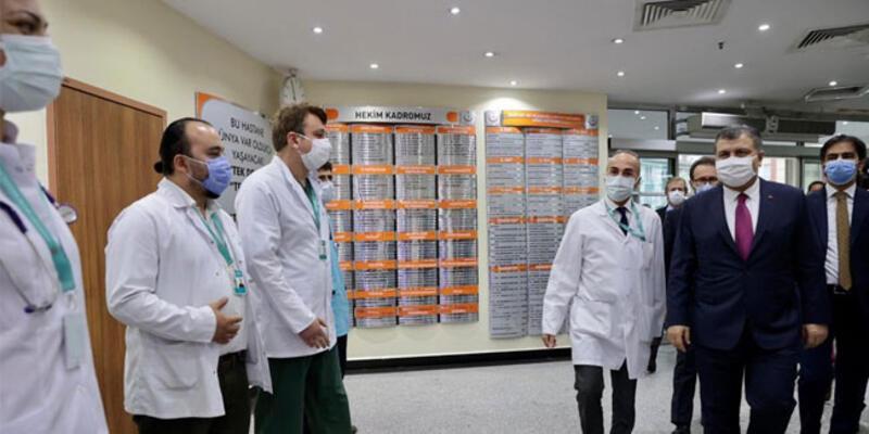 Sağlık Bakanı Koca'dan İstanbul'daki devlet hastanelerine ziyaret