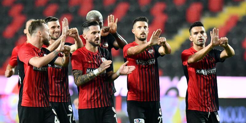 Gaziantep FK - Beşiktaş: 3-1