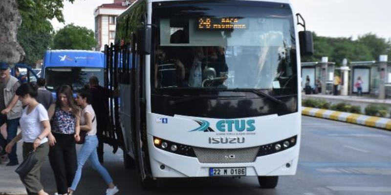 Edirne'de şehir içi ulaşımında HES kodu uygulamasına geçilecek