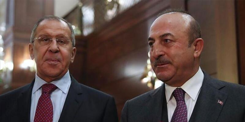 Son dakika haberi... Bakan Çavuşoğlu, Rus mevkidaşıyla görüştü