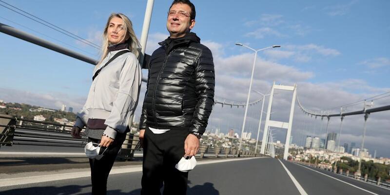 İmamoğlu: İstanbul'a maraton yakıştığı gibi olimpiyat da yakışır