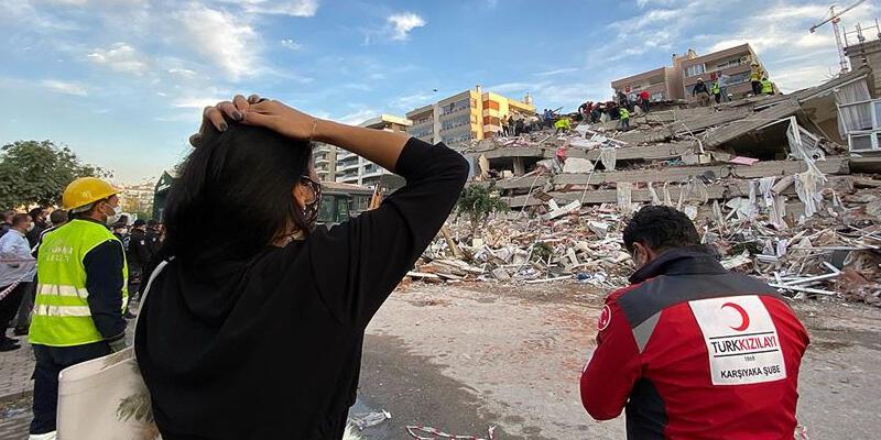 Son dakika haberi: İzmir depreminde can kaybı 115'e yükseldi