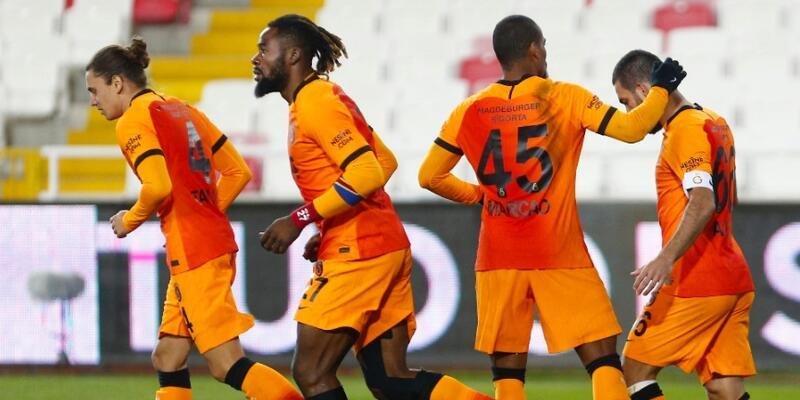 Sivasspor 1-2 Galatasaray MAÇ ÖZETİ