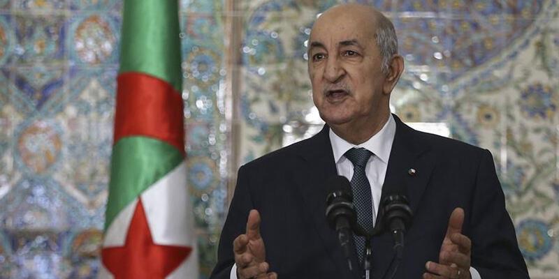 Kovid-19 tedavisi gören Cezayir Cumhurbaşkanı Tebbun'un sağlık durumu iyiye gidiyor
