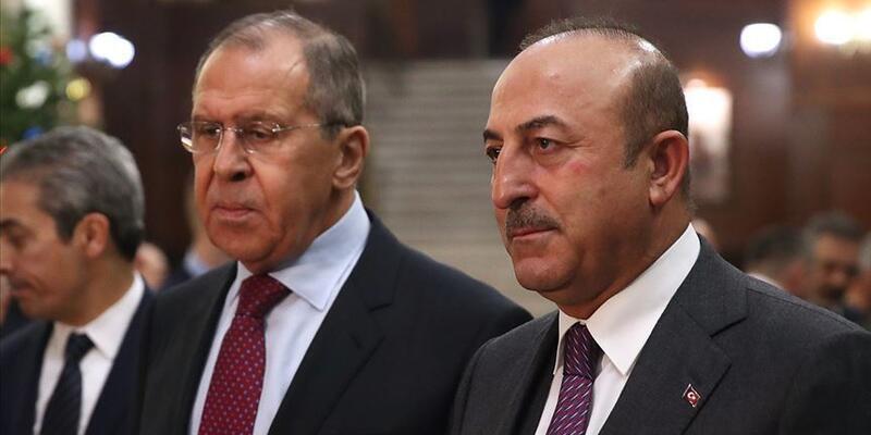 Son dakika... Bakan Çavuşoğlu, Rusya Dışişleri Bakanı Lavrov'la görüştü