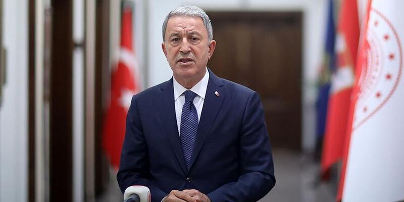 Son dakika... Bakan Akar'dan Azerbaycan mesajı